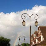Arc-en-ciel à Deauville